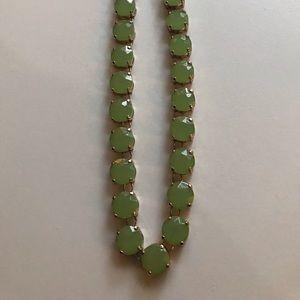 Leslie Danzis seafoam green necklace